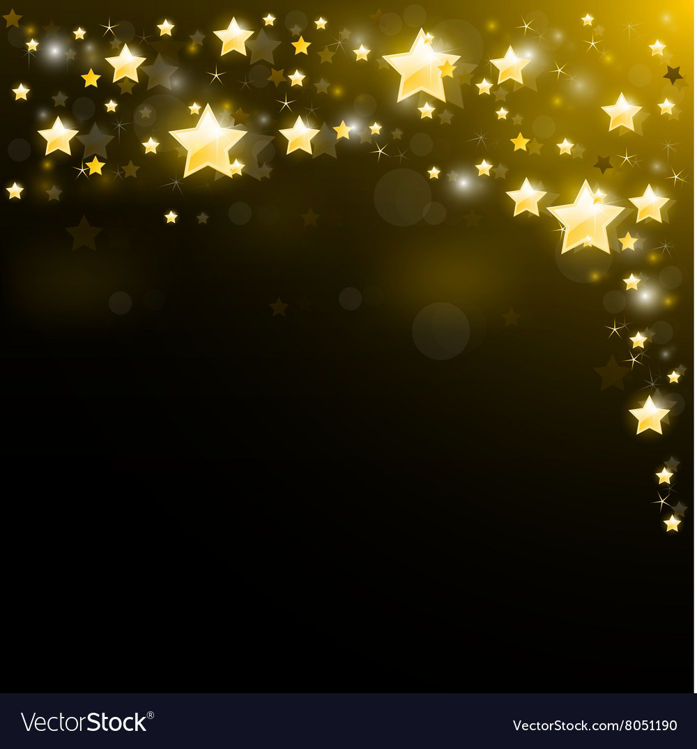 Night sky studded with sparkling stars
