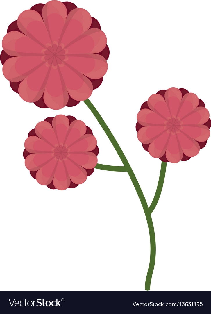 Flower branch spring icon