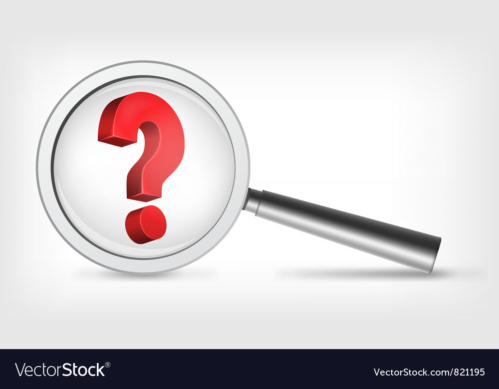 Question Concept vector image