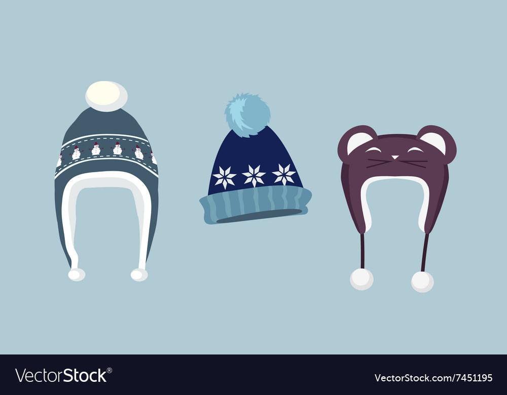 Set Winter Hat