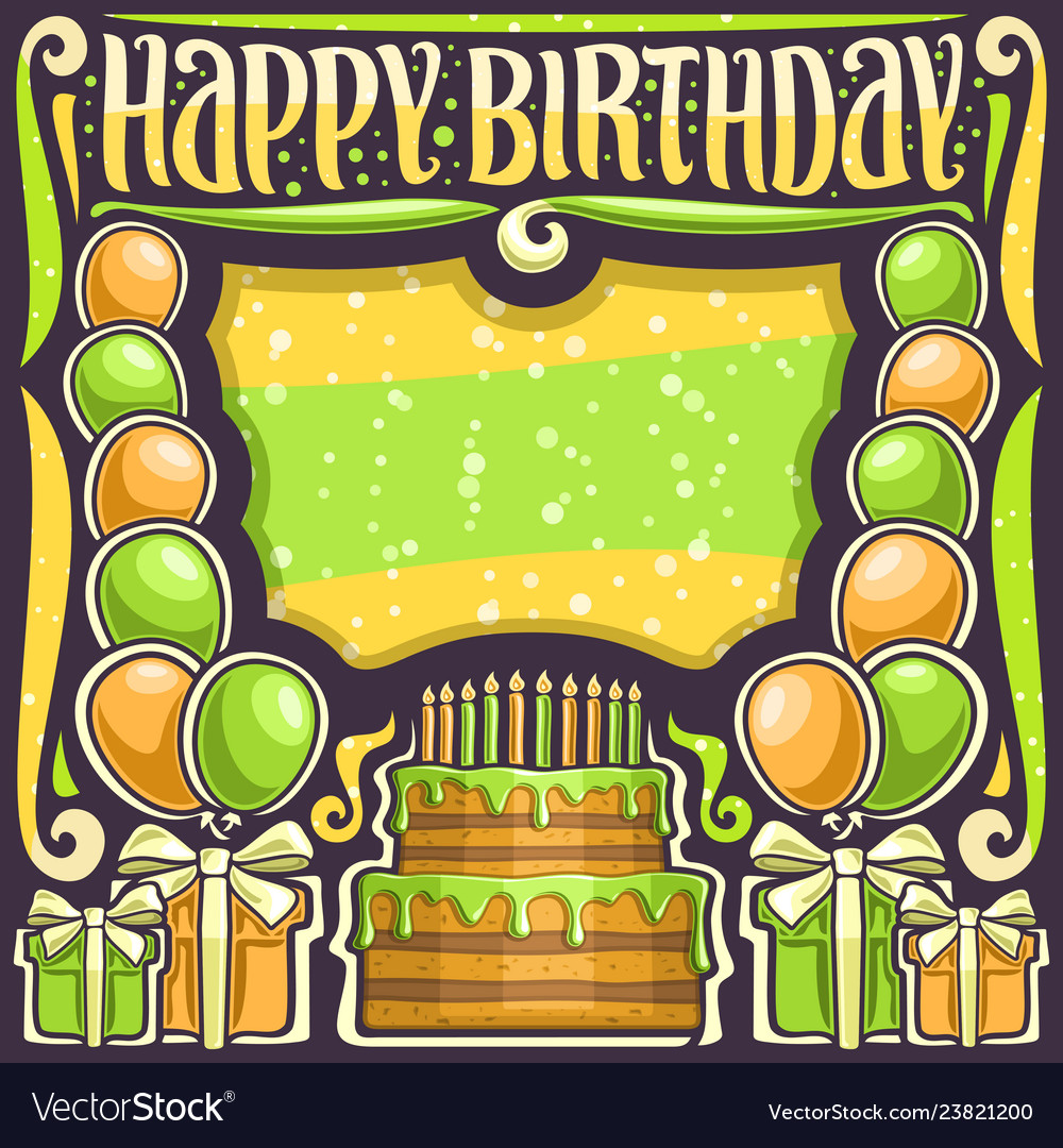 Poster for happy birthday