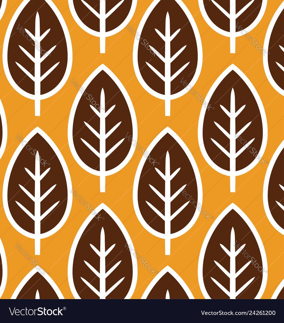 Retro geometric flowers pattern 06