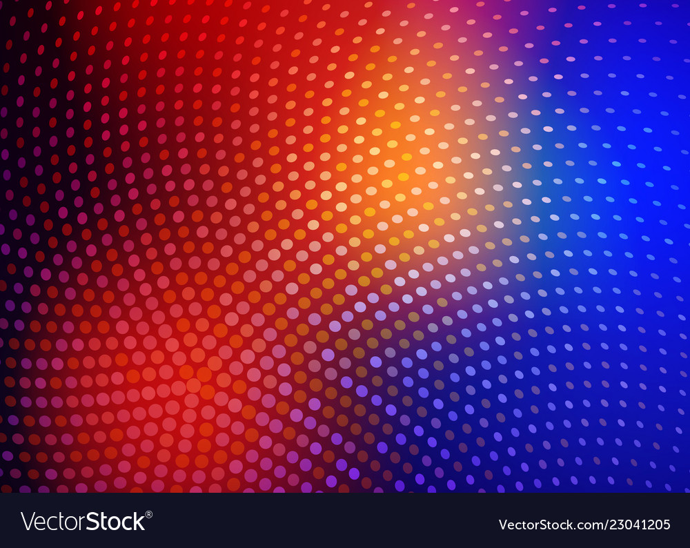 Abstract colorful blurred background modern