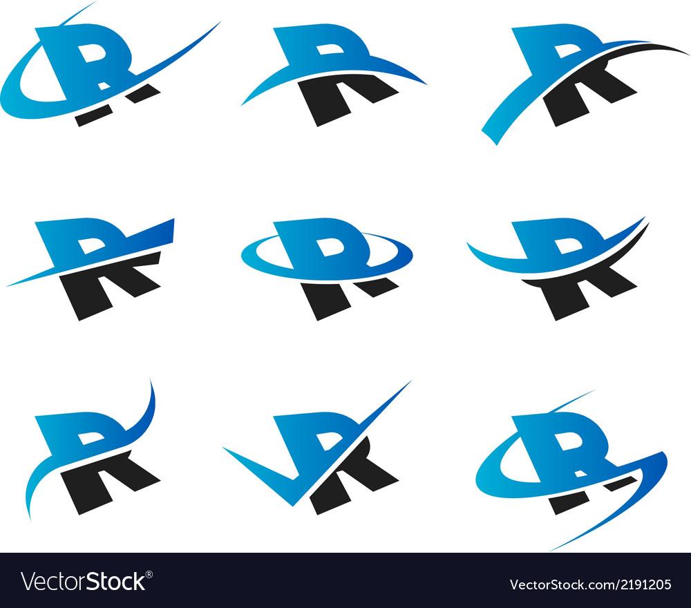 Alphabet R Logo Icons