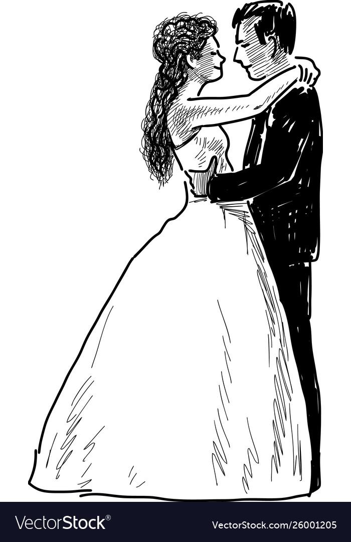 Bride and grum