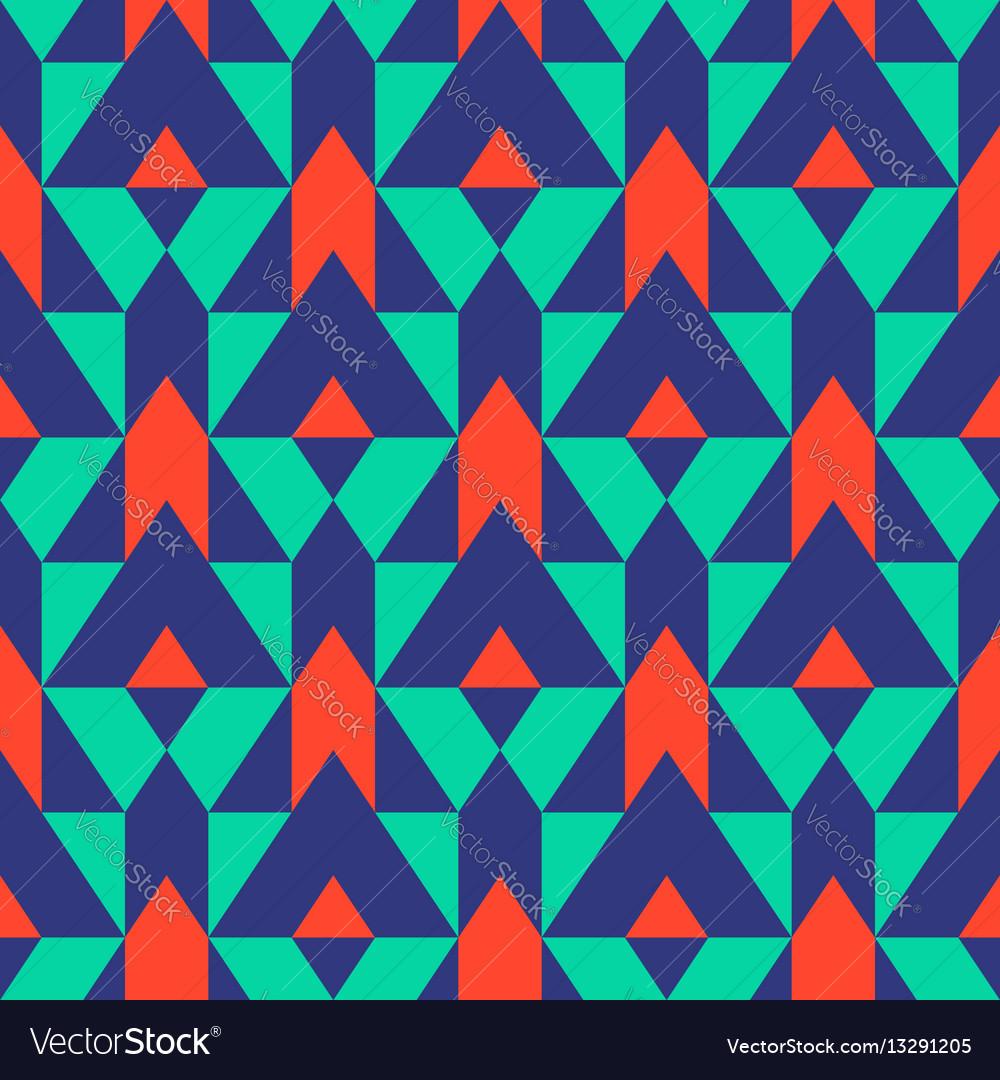 Pattern with stripe chevron geometric shapes