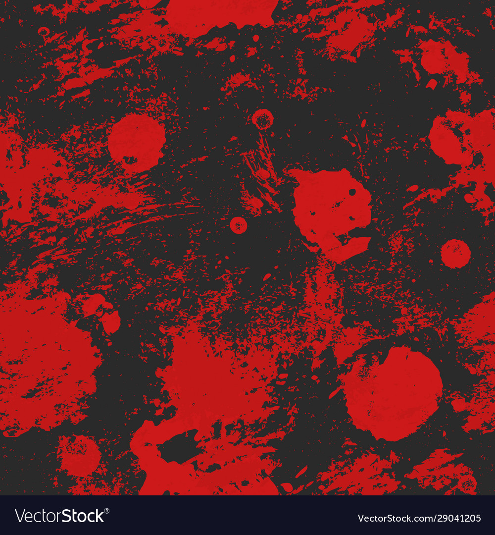 Red spots grunge seamless texture
