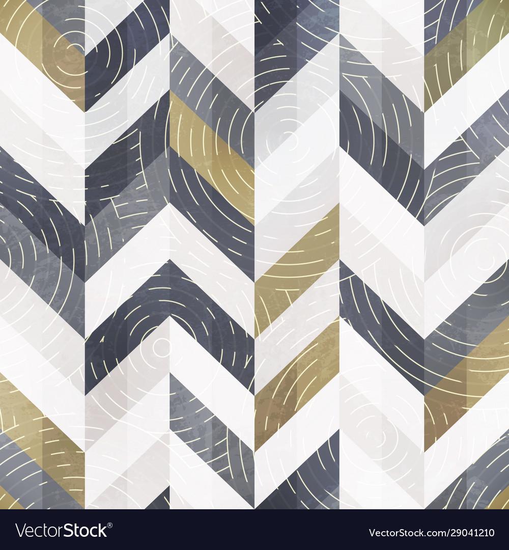 Retro geometric pattern