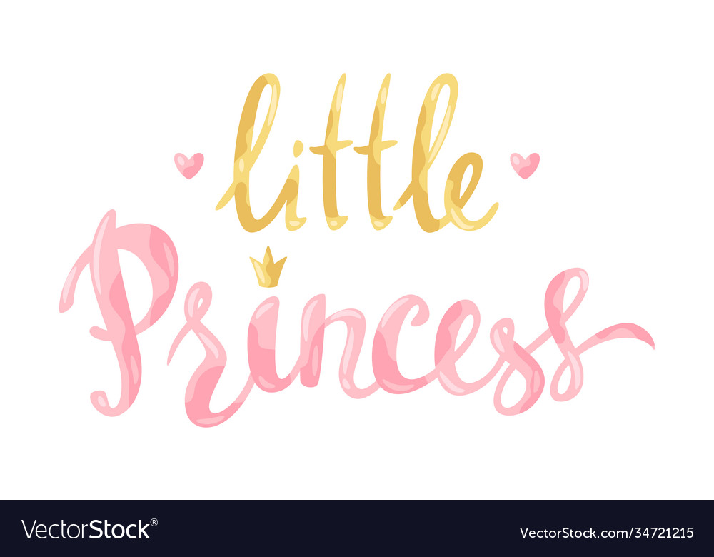 Little princess card
