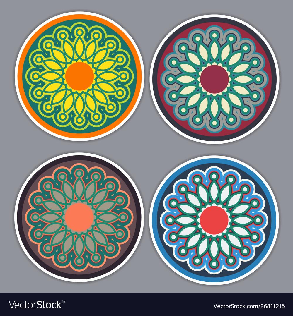 Vintage floral pattern for decorative design