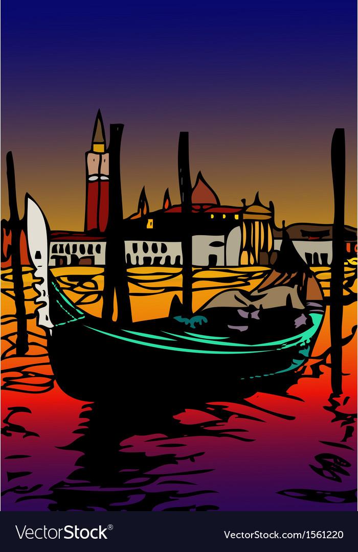 Gondola a San Marco