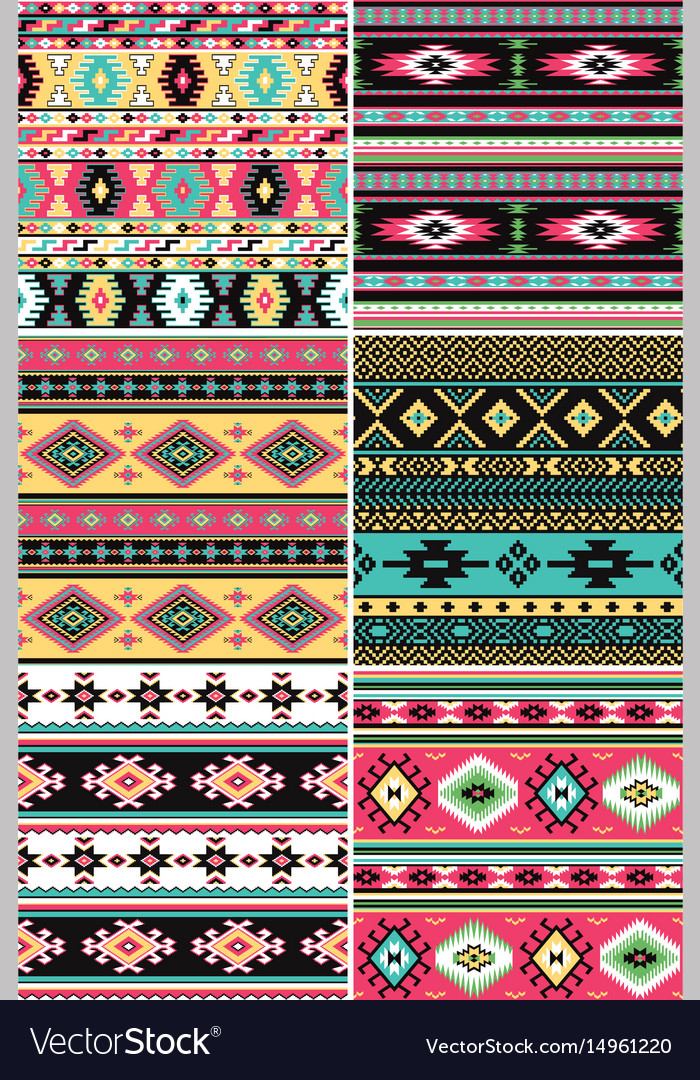 Native american fabric collection