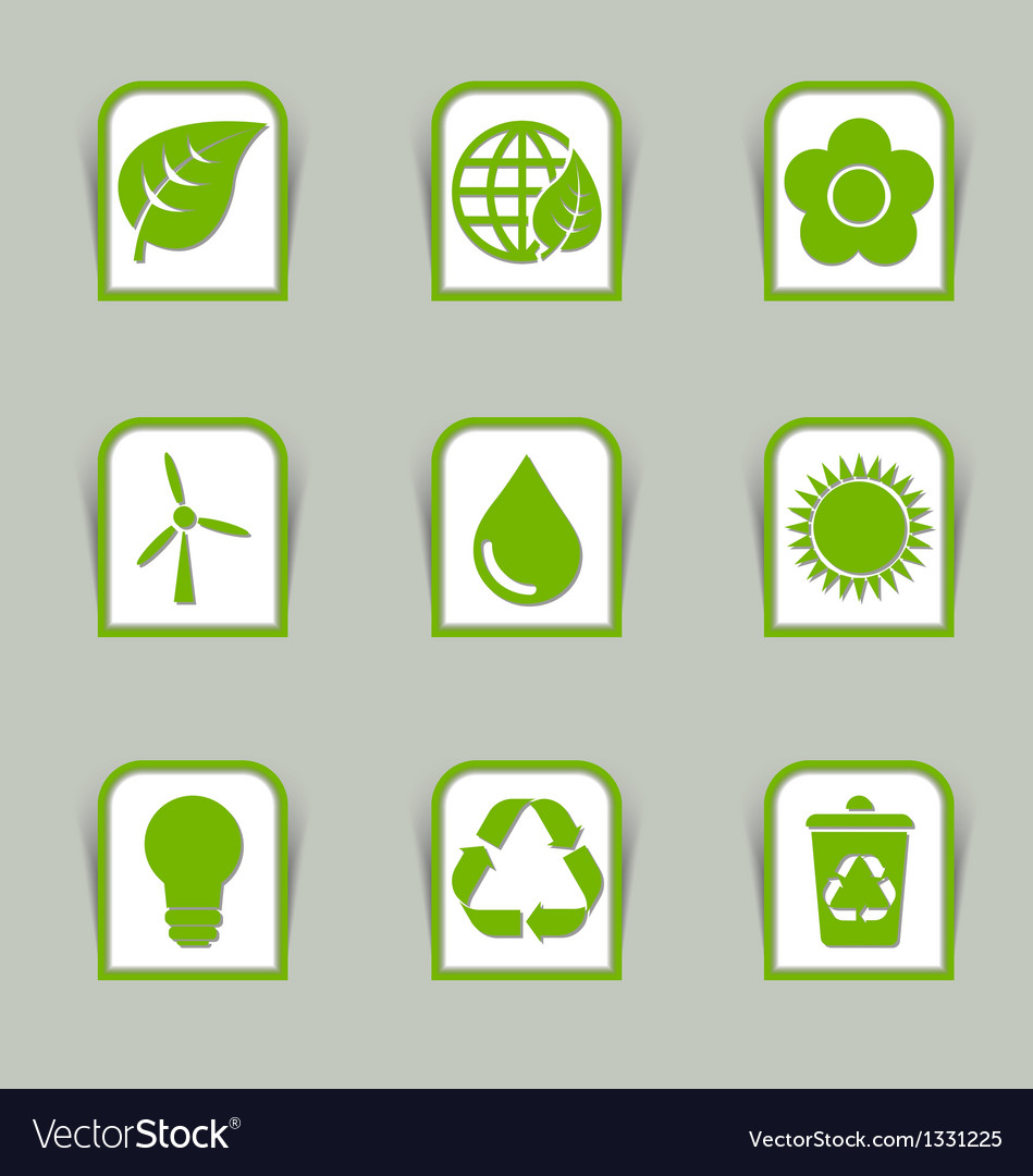 Ecological icon sticks