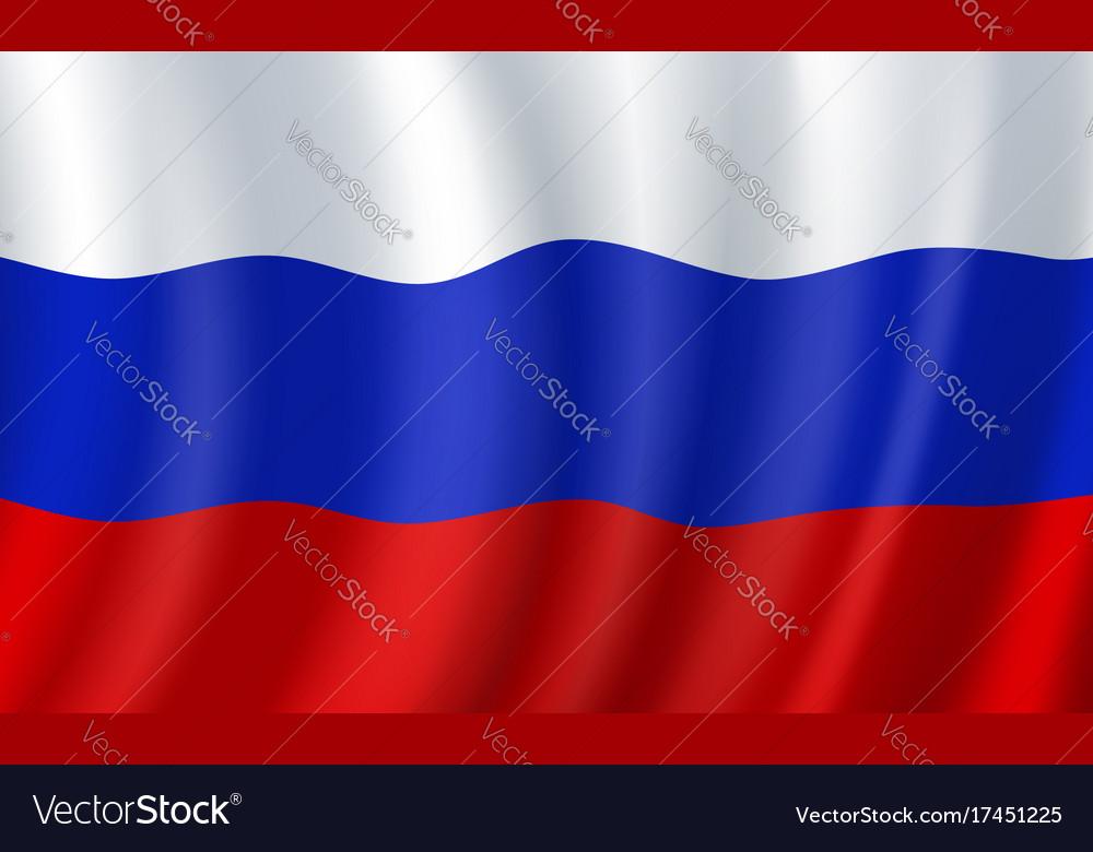 Russia 3d flag russian national symbol