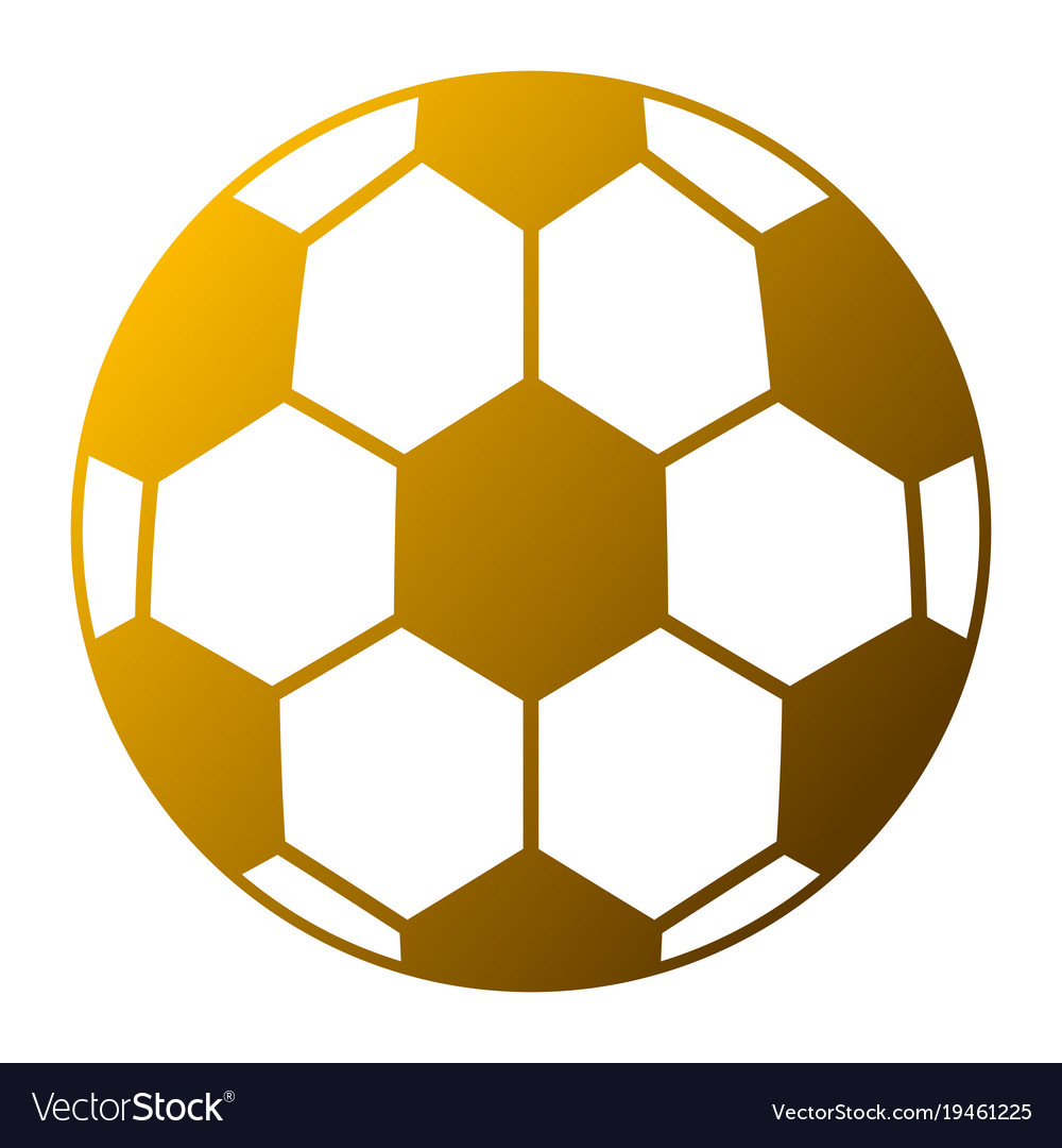 Soccer ball sport toy icon