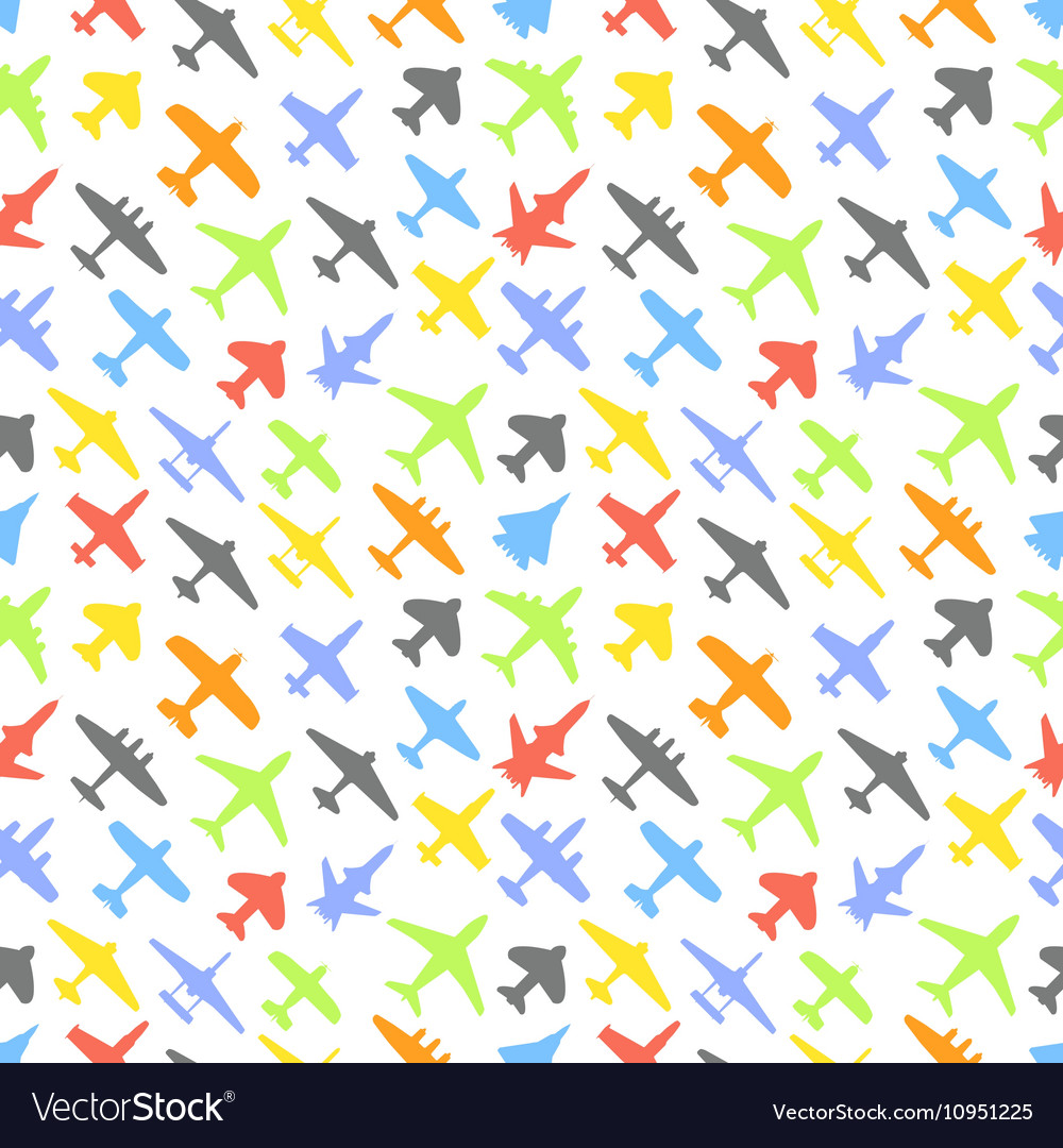 Transport and navy airplanes and jets color