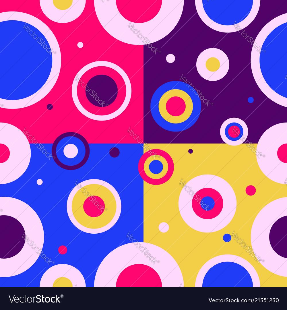 Vintage seamless pattern design