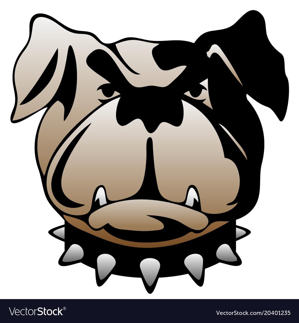 Guard dog face