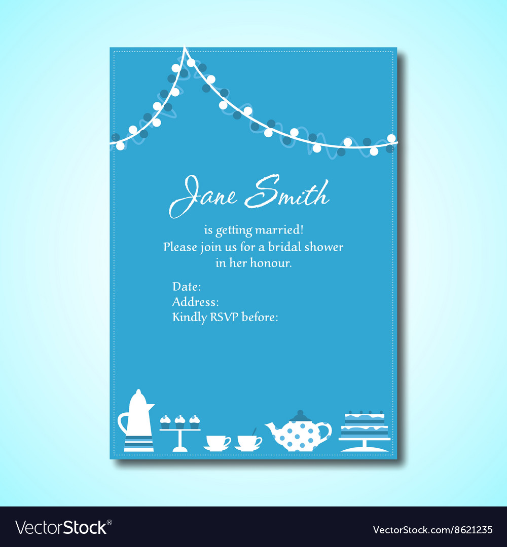 Invitation for Bridal Shower