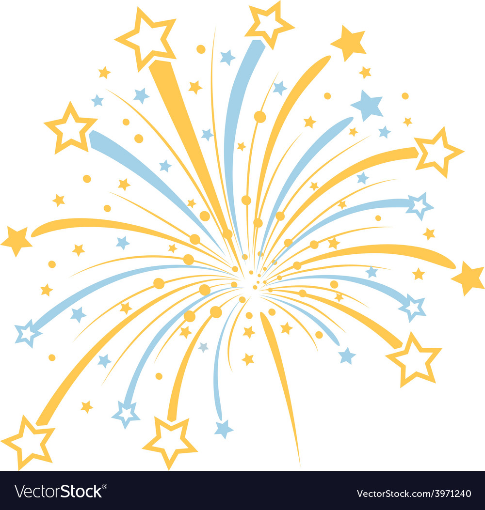 firework royalty free vector image vectorstock rh vectorstock com fireworks vector icon fireworks vector free download