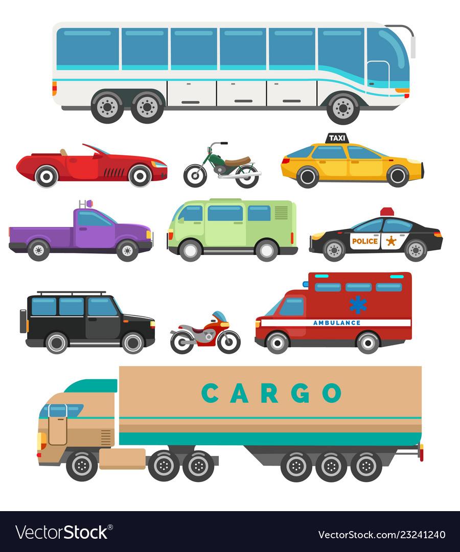 Urban vehicle set