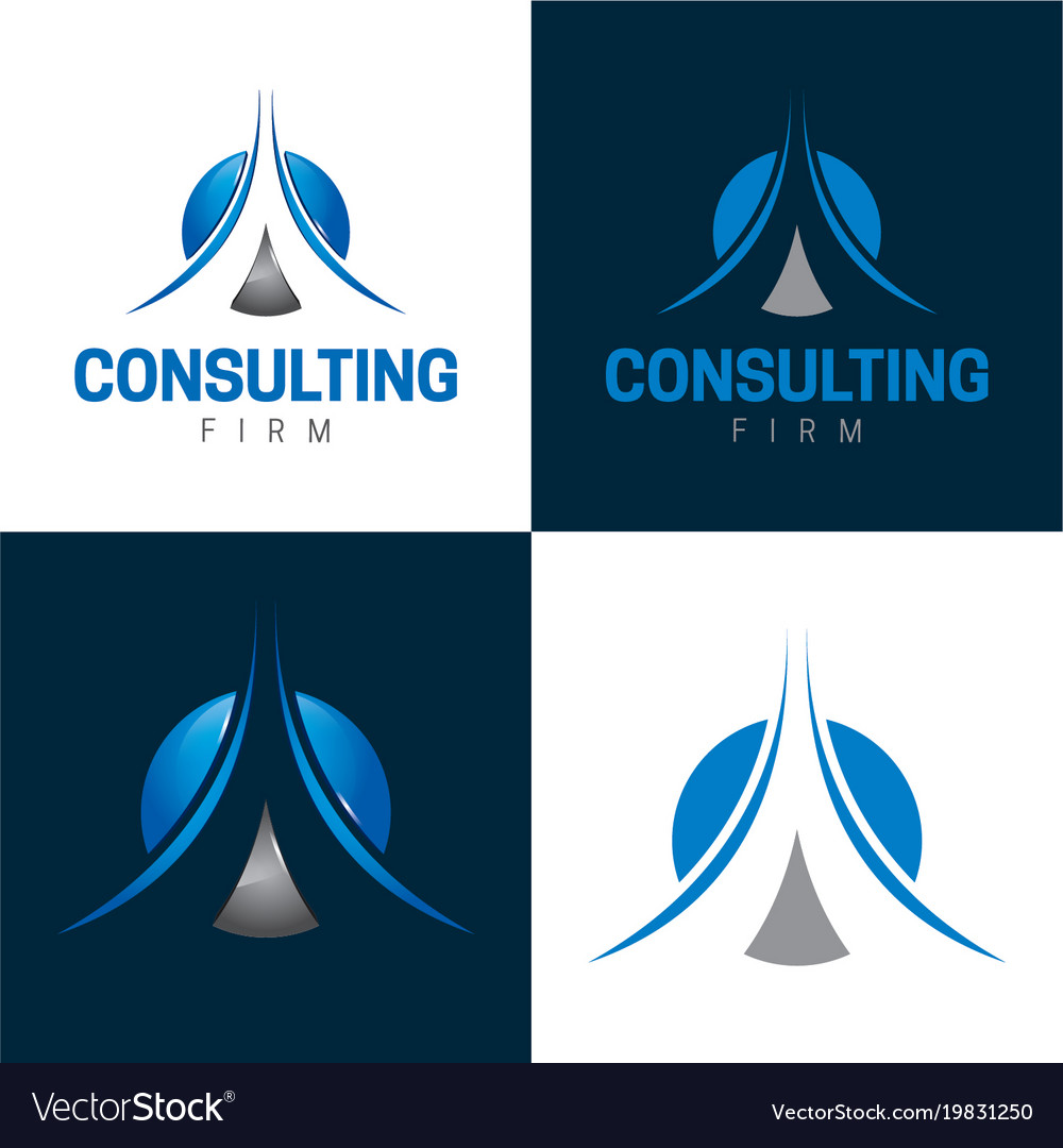 Consulting firm icon and logo