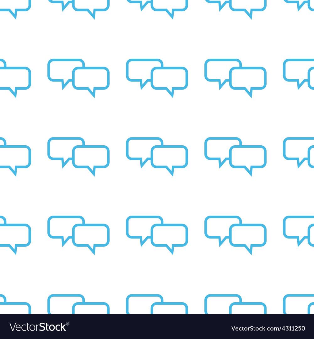 Unique Dialog seamless pattern