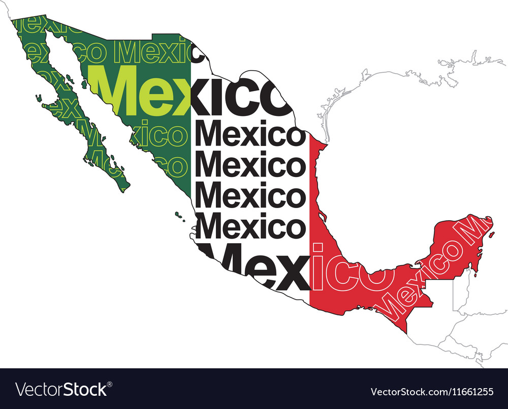 Map of Mexico 1