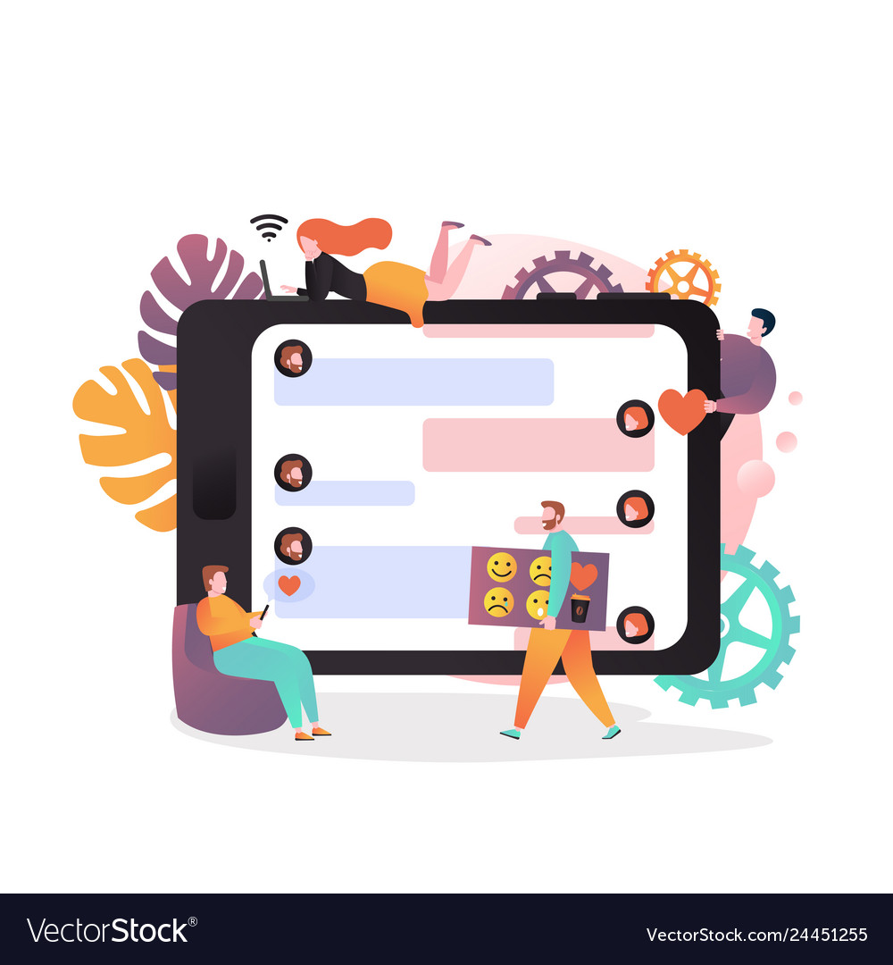 Online correspondence concept for web