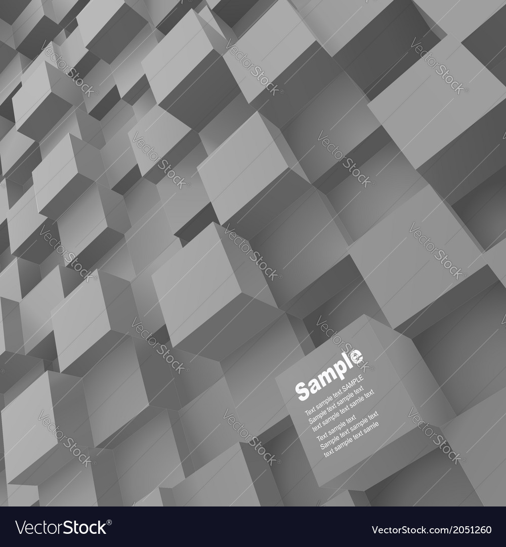 3d blocks structure backgroun