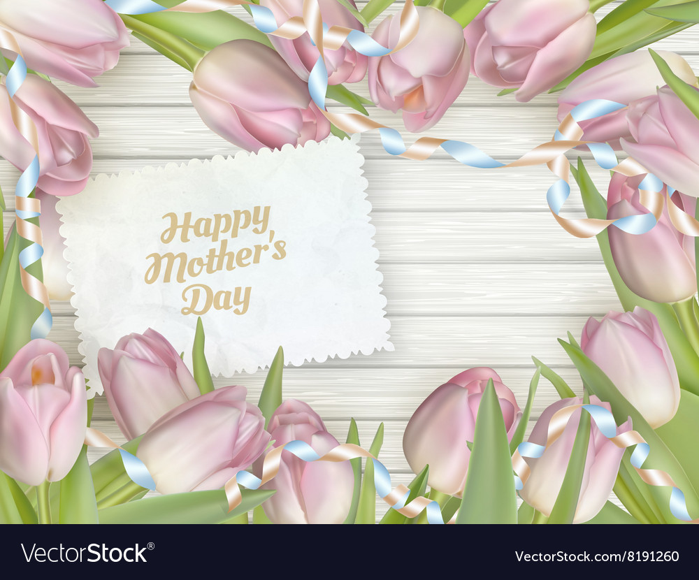 Happy mother day EPS 10 vector image