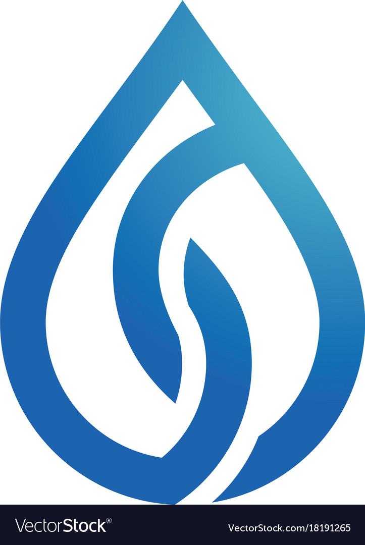 Drop water logo