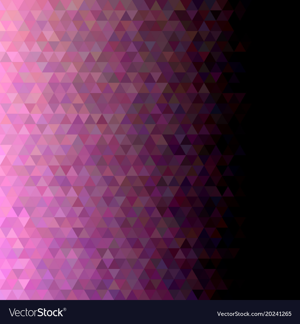 Geometric triangle tile pattern background