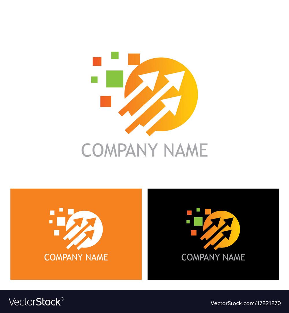 Arrow digital technology logo