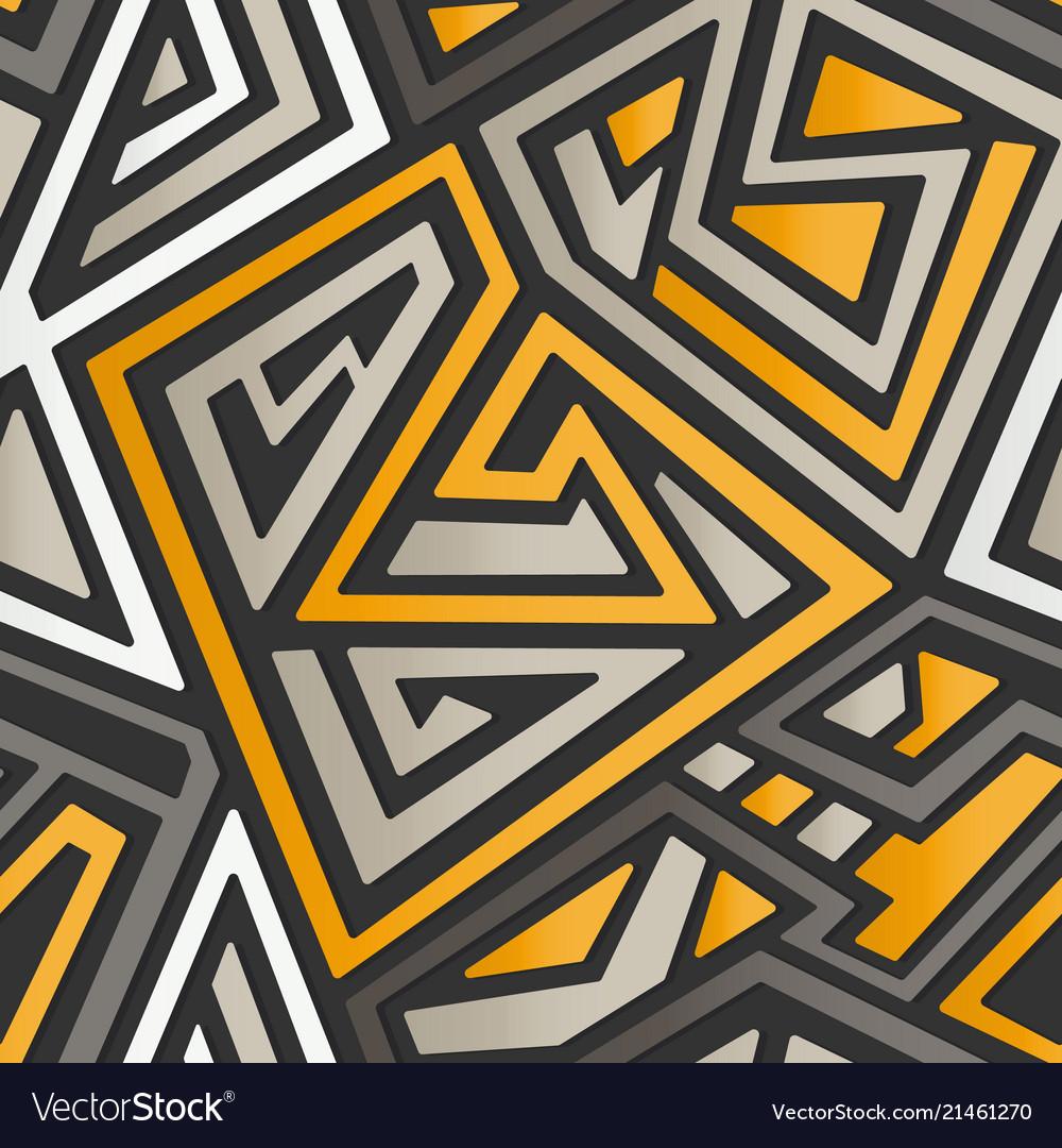 Technology maze pattern