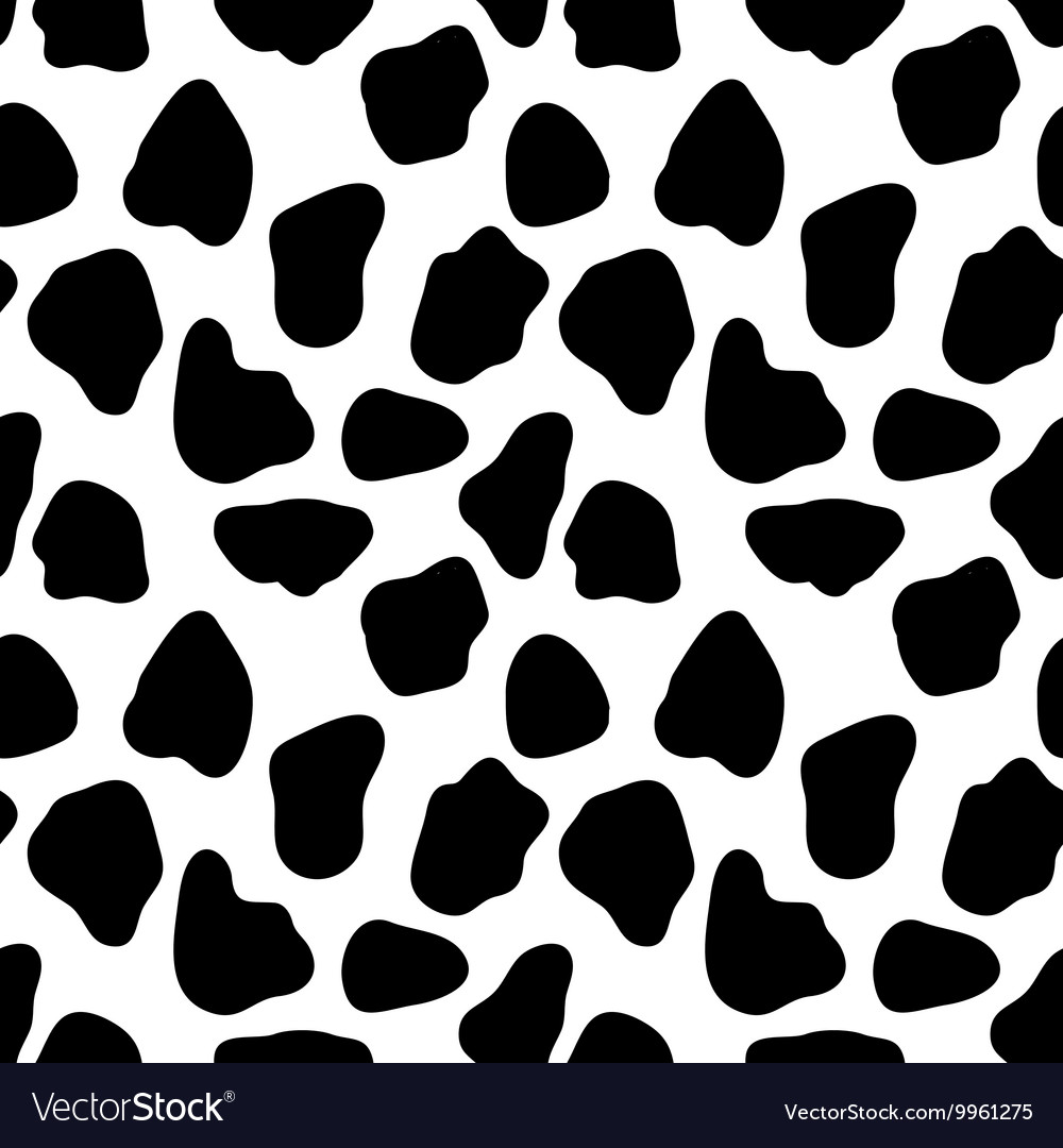 Cow seamless pattern abstract background
