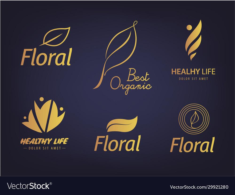 Set silhouette healthy lifestyle eco
