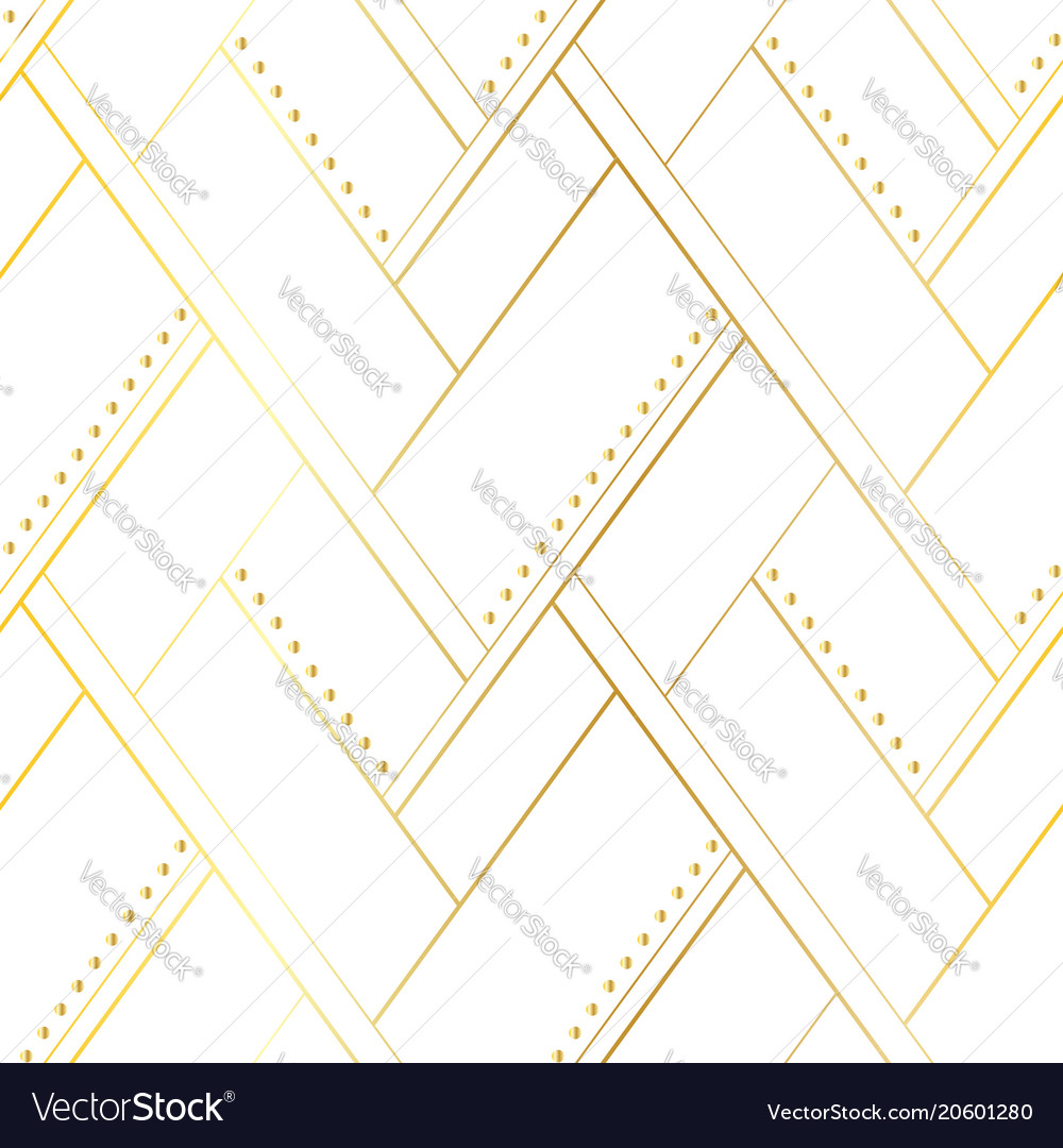 White and gold luxury seamless pattern