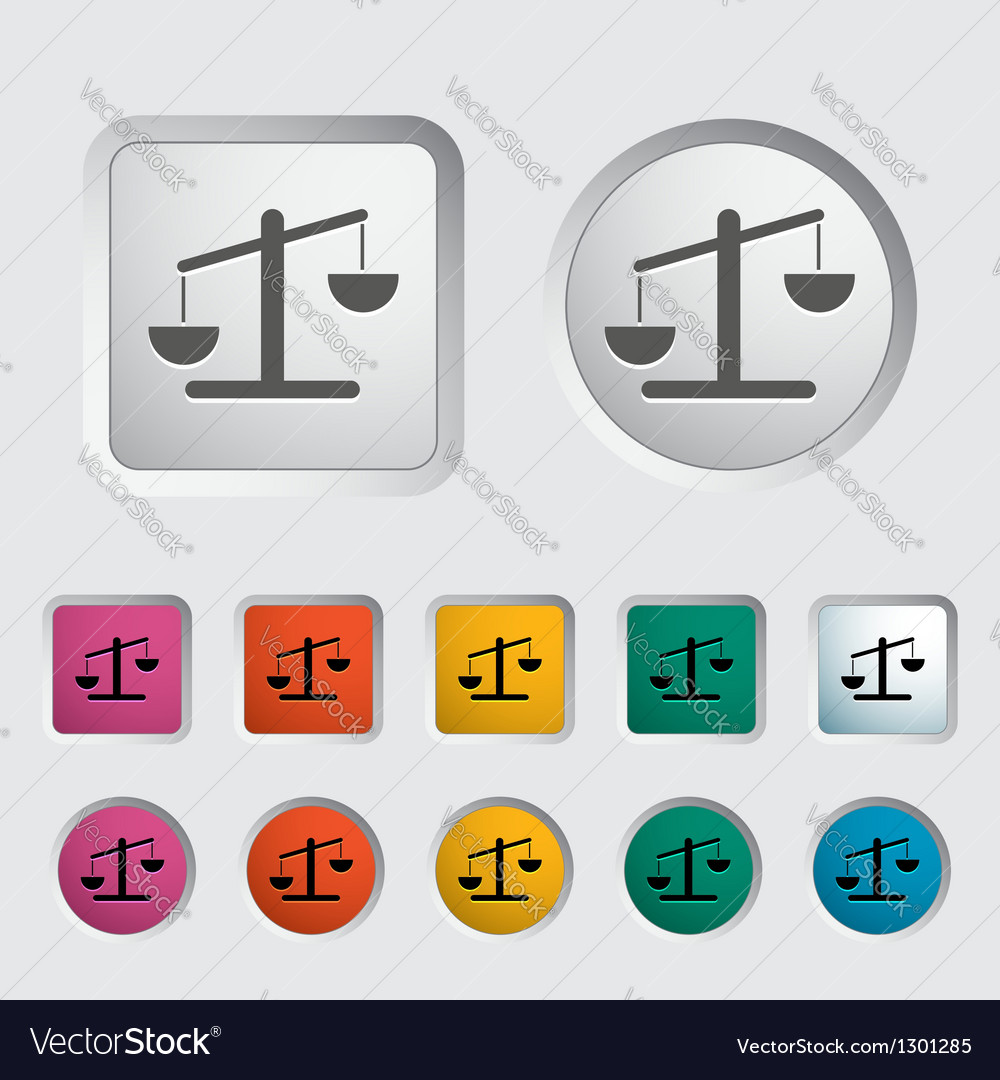 Weights 2 vector image