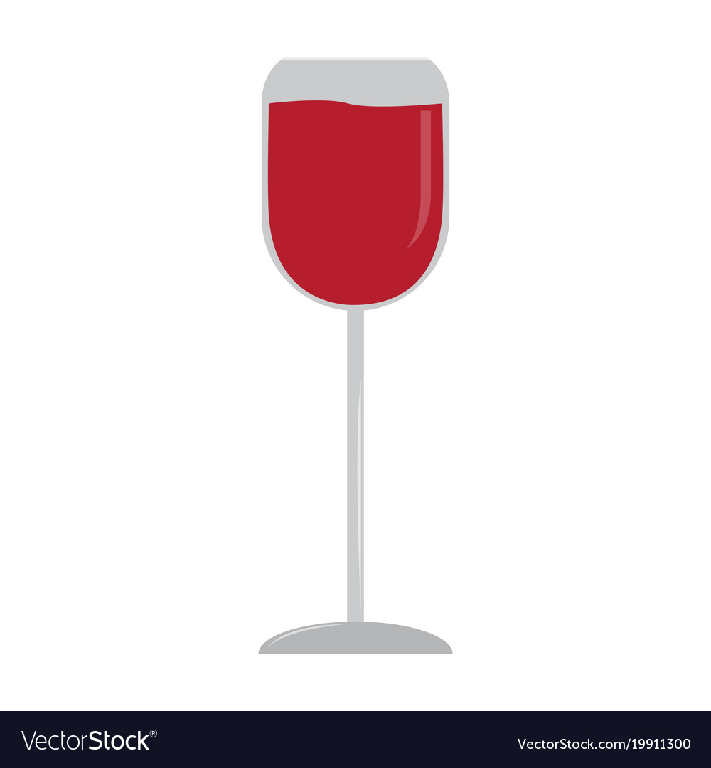 Isolated wine cup