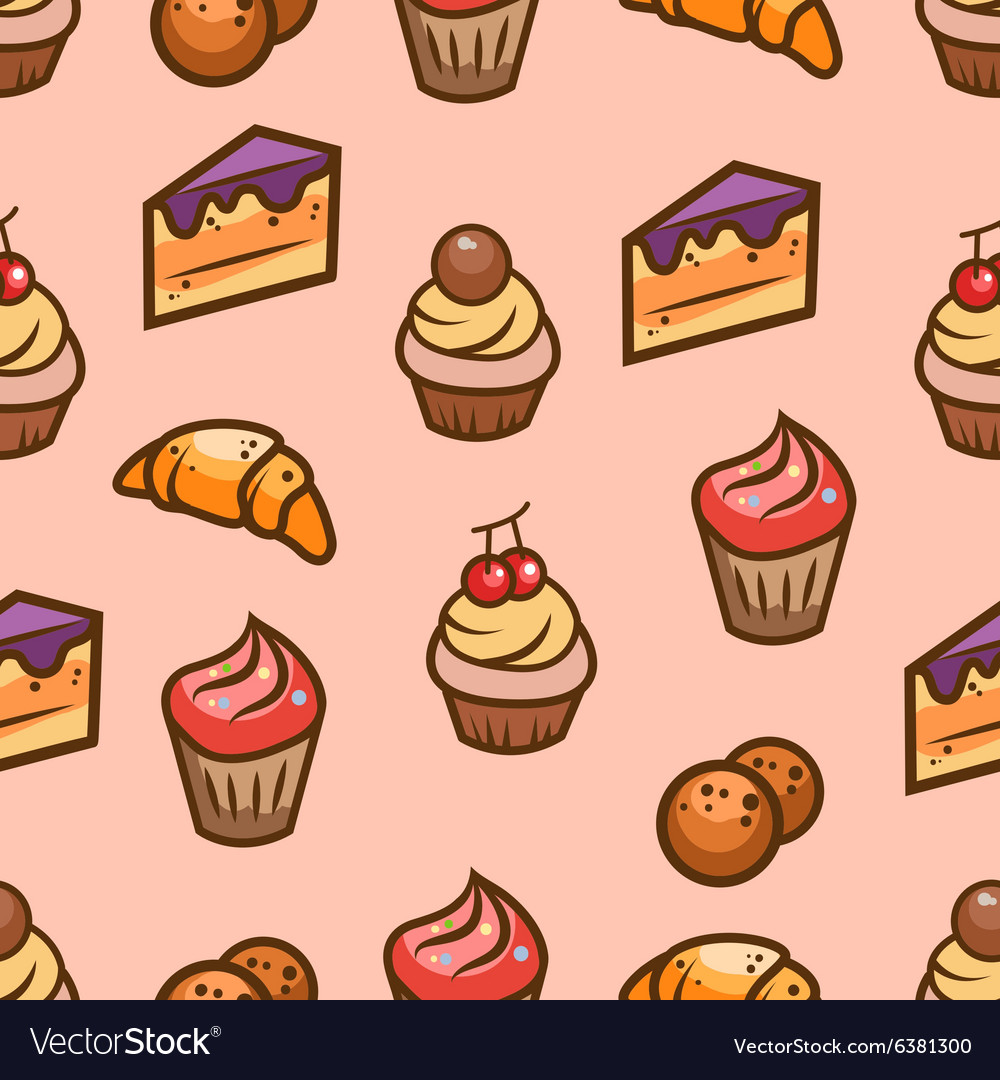 Sweet seamless pattern