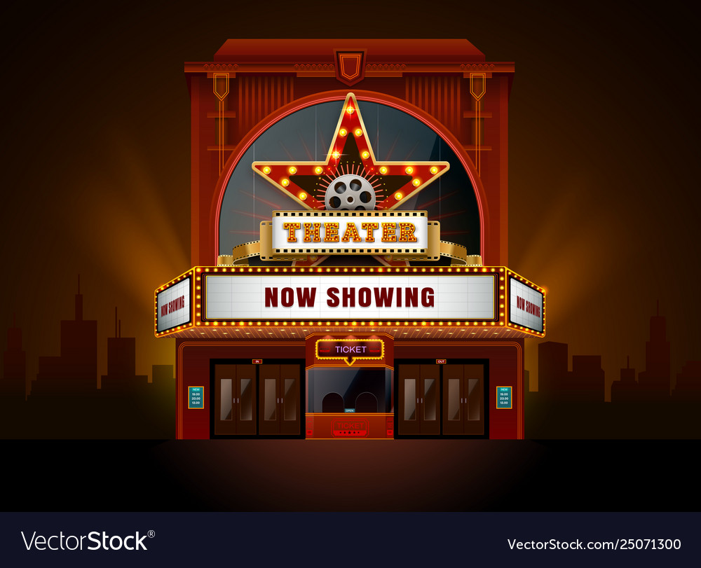 Theater cinema building