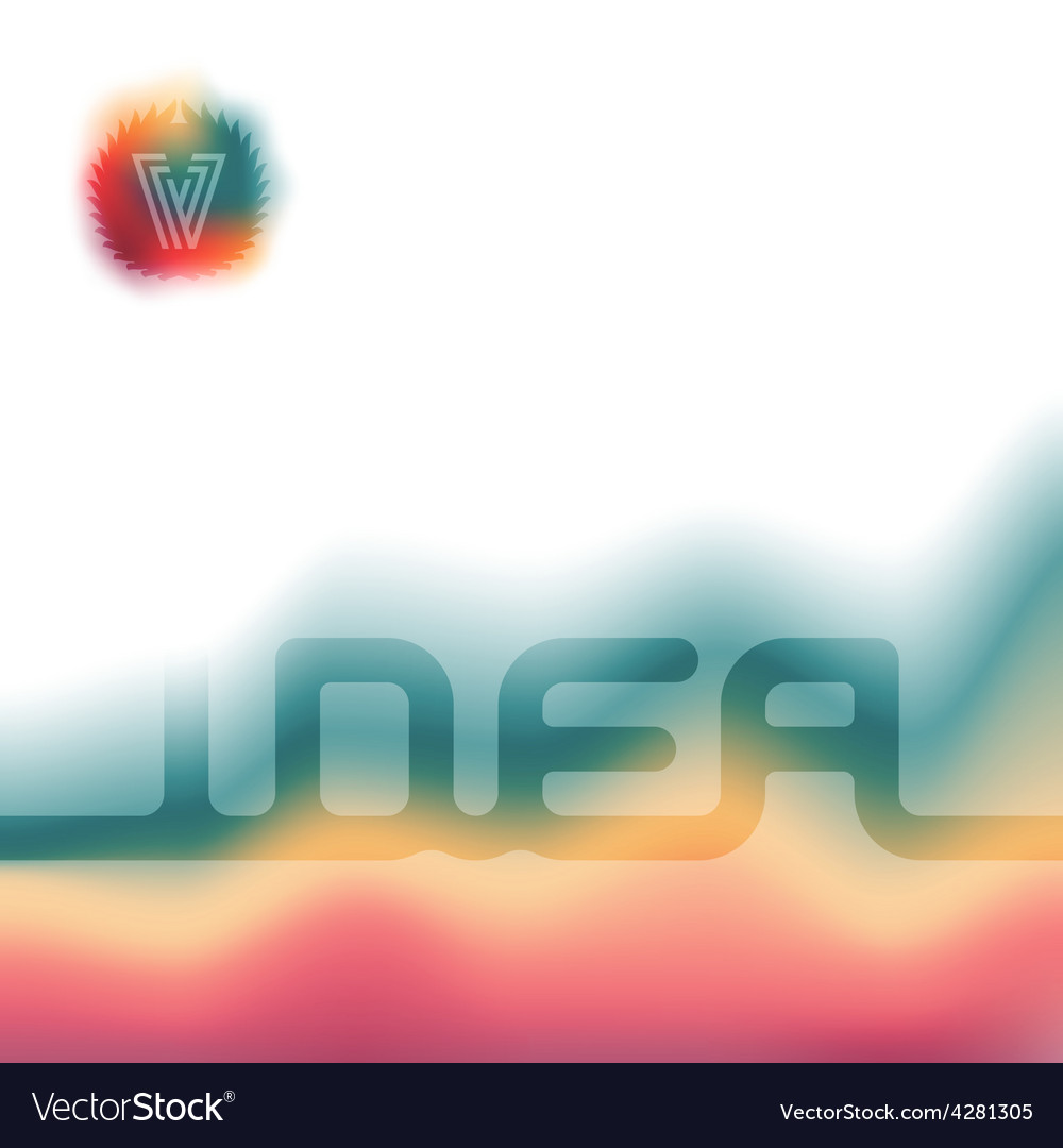 Brochure cover design template Abstract background vector image