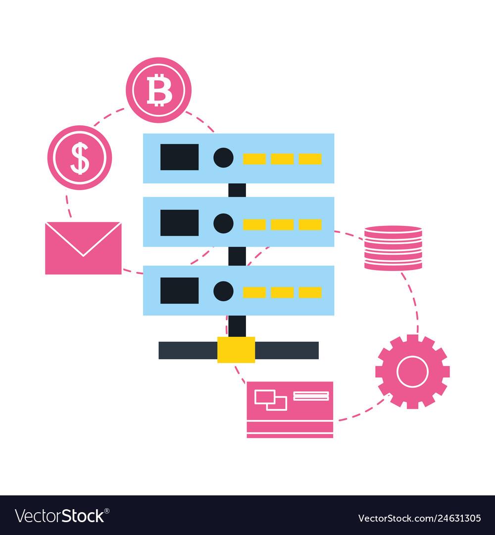 Database server transaction bank bitcoin fintech