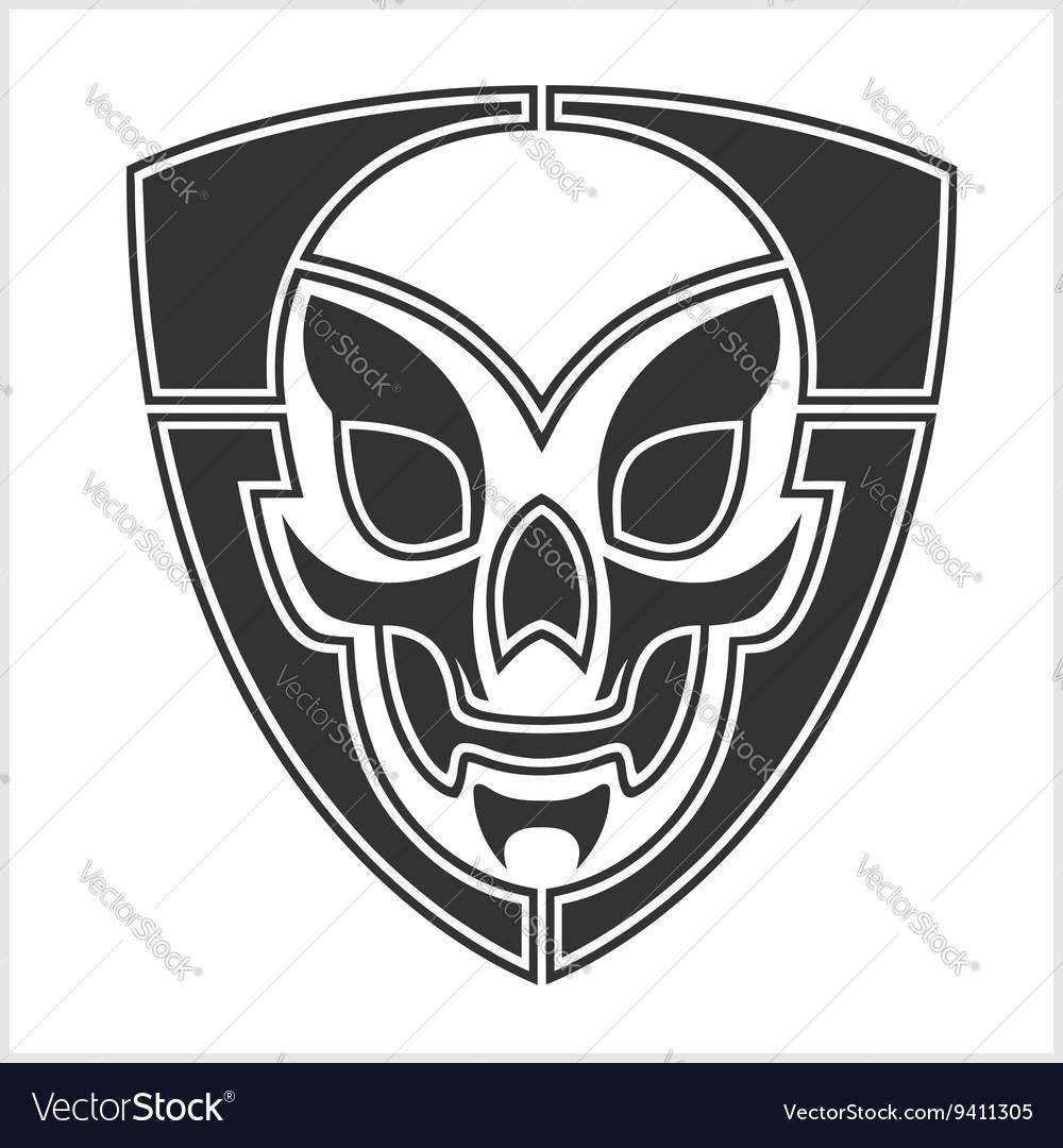 Skull riders shield