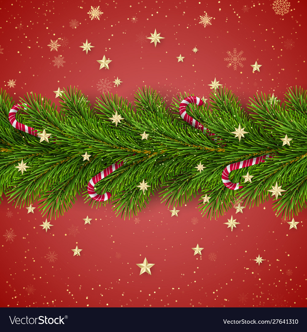 Merry christmas and happy new year christmas tree