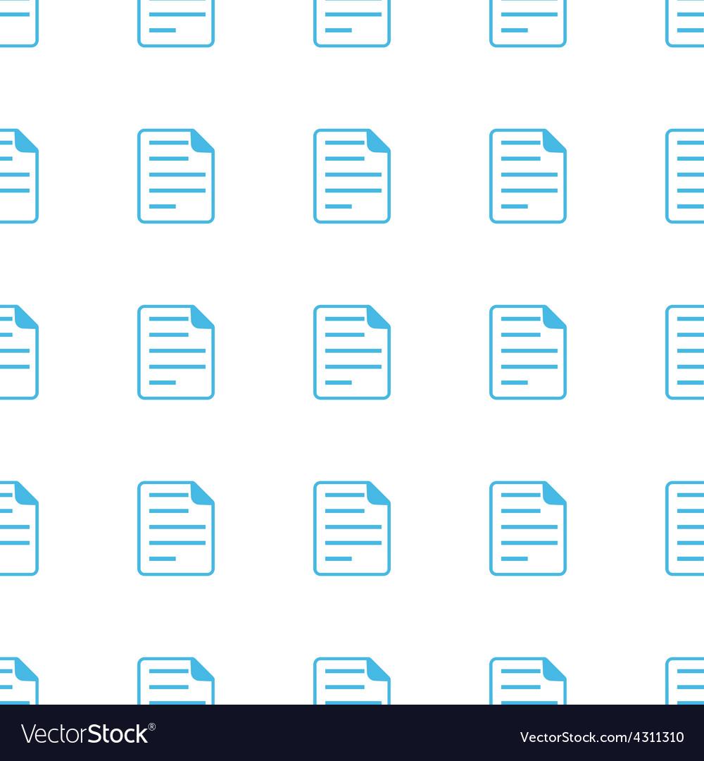 Unique Document seamless pattern