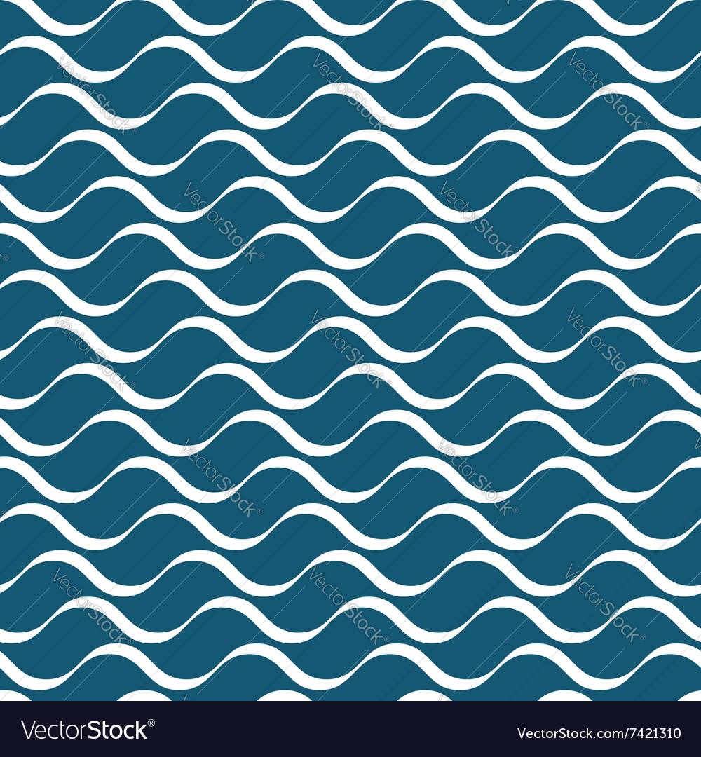 Wavy stripes seamless pattern