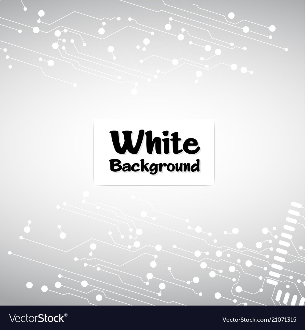 Abstract connecting dots and line white background