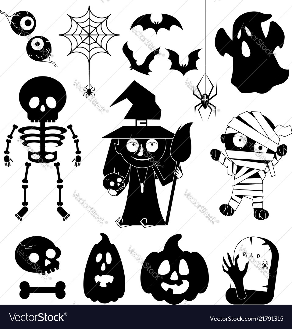 Cartoon charachters for halloween